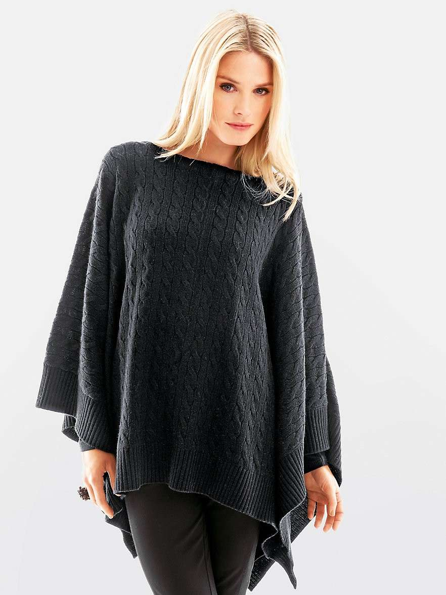Bellissimo poncho tricot