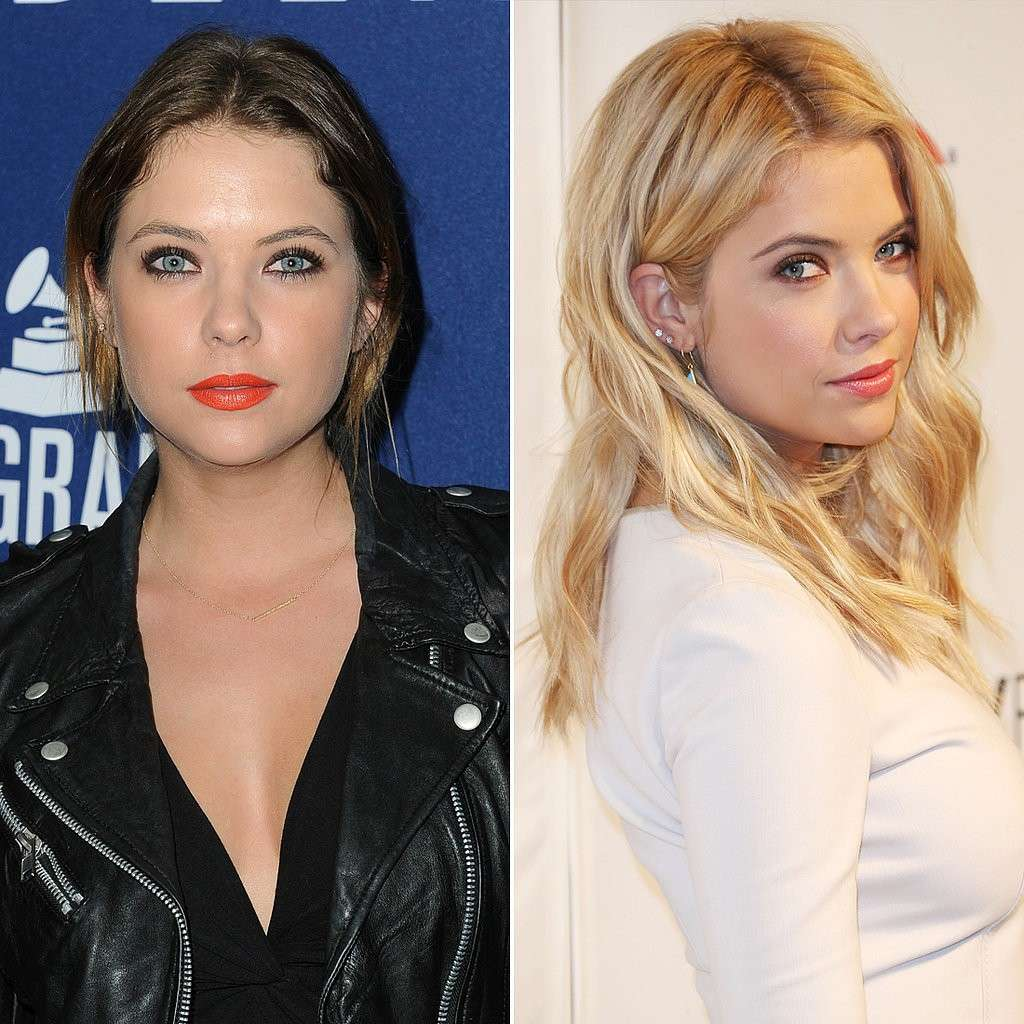 Ashley Benson con extensions bionde