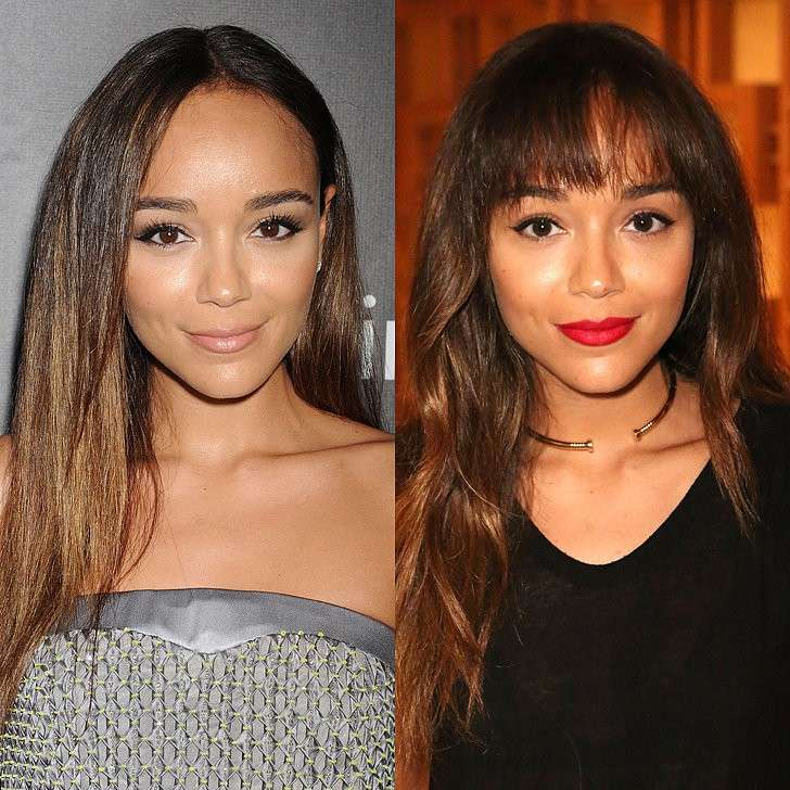 Ashley Madekwe prima e dopo il cambio look
