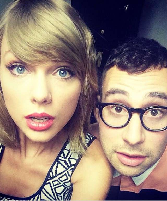 Selfie di Taylor Swift su Instagram
