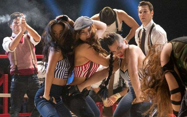 Una scena del Step up all in del 2014