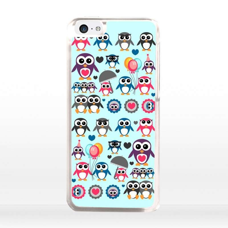 Cover con pinguino per iphone 5