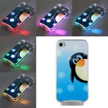 Cover con i pinguini luminosi