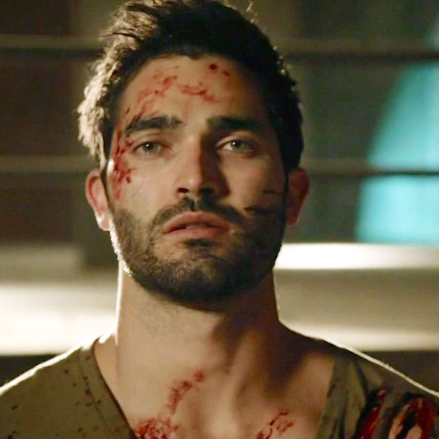 Tyler Hoechlin sul set