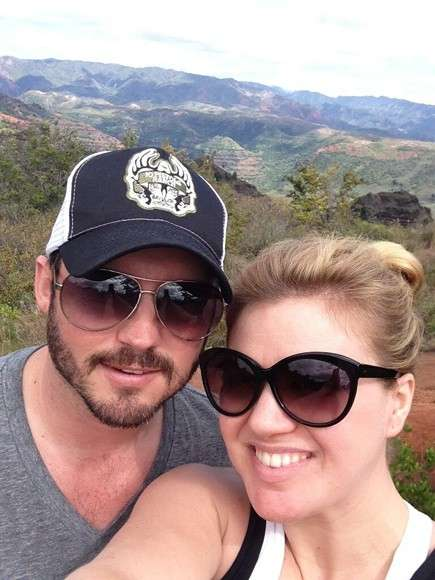 Kelly Clarkson e Brandon Blackstock alle Hawaii