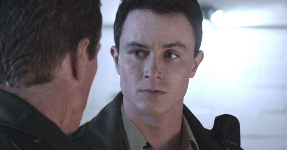 Una scena di Teen Wolf con Ryan Kelley