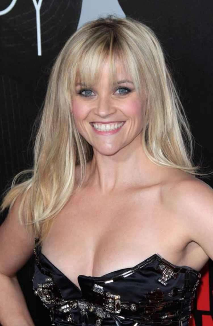 Reese Witherspoon con la frangia