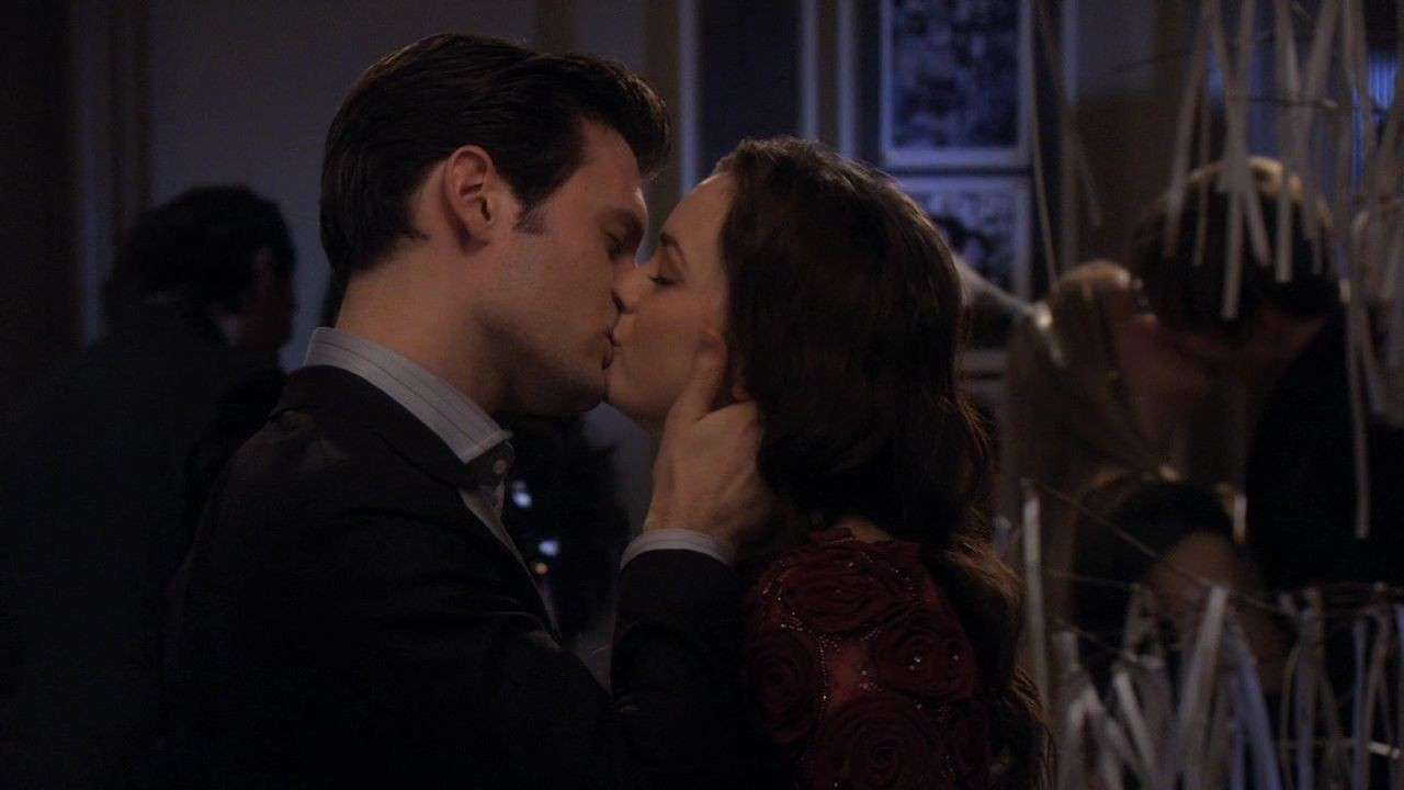 Dan e Blair si baciano in Gossip Girl