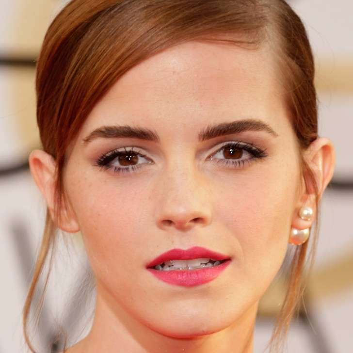 Make up labbra di Emma Watson