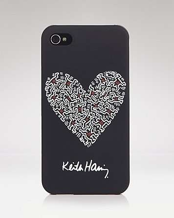 Cover per Iphone nera con cuore