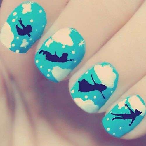 Nail art di Peter Pan
