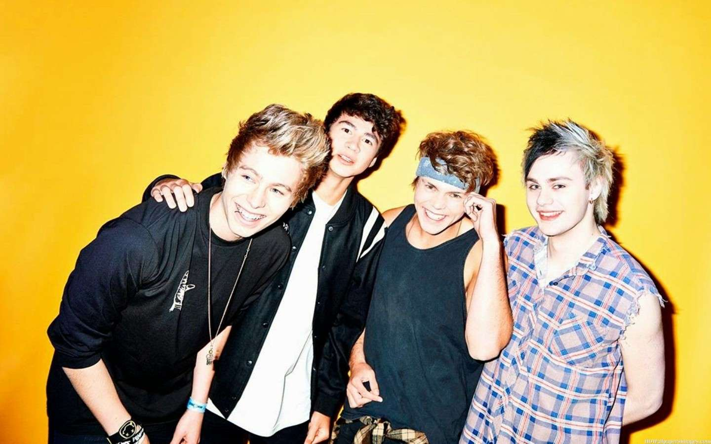 5 Seconds of Summer in cocerto in Italia