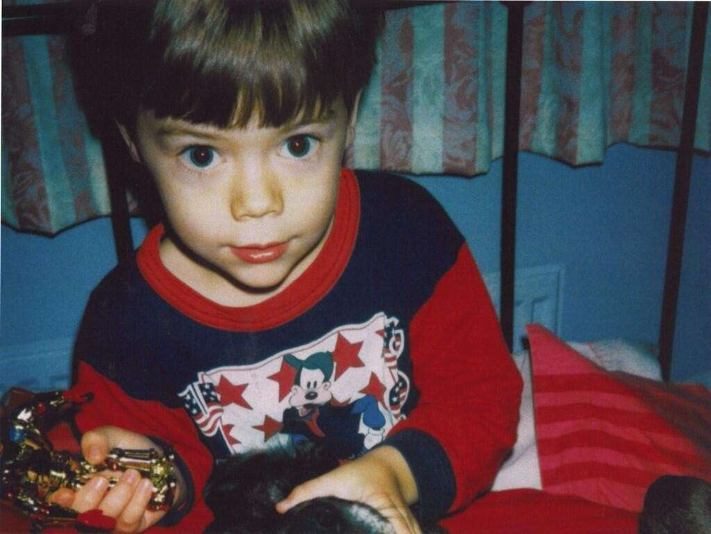 Harry Styles da piccolo