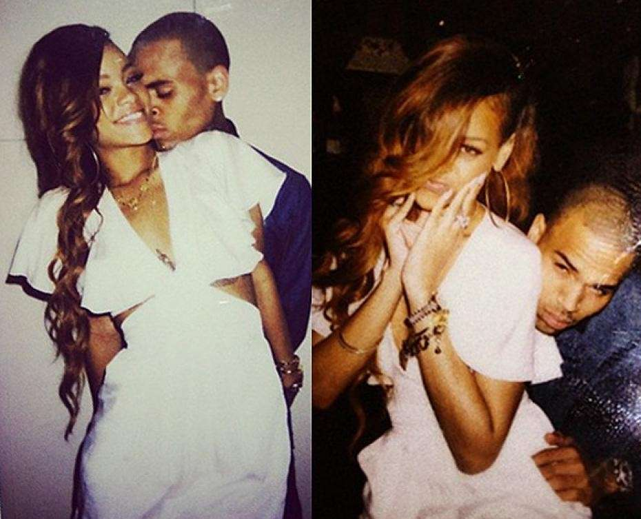 Rihanna e Chris Brown alle Hawaii