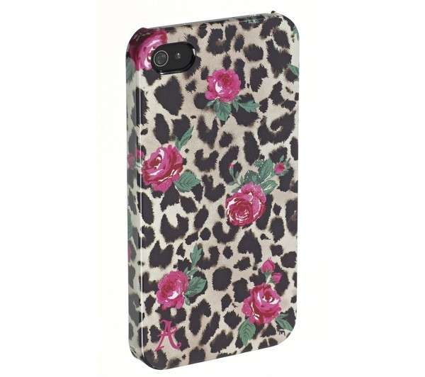 Cover con rose e stampa animalier