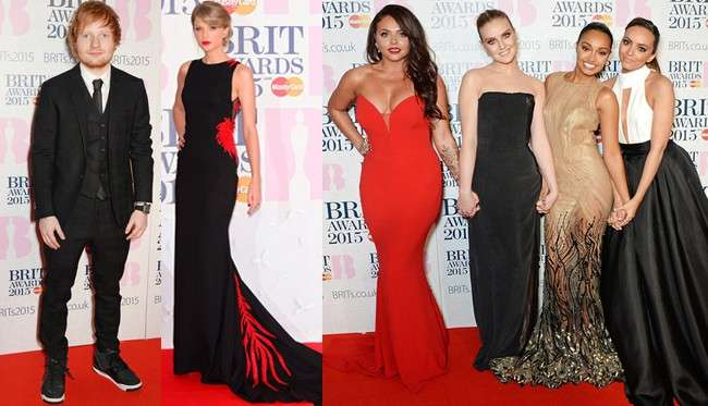 Brit Awards 2015: foto look dal red carpet