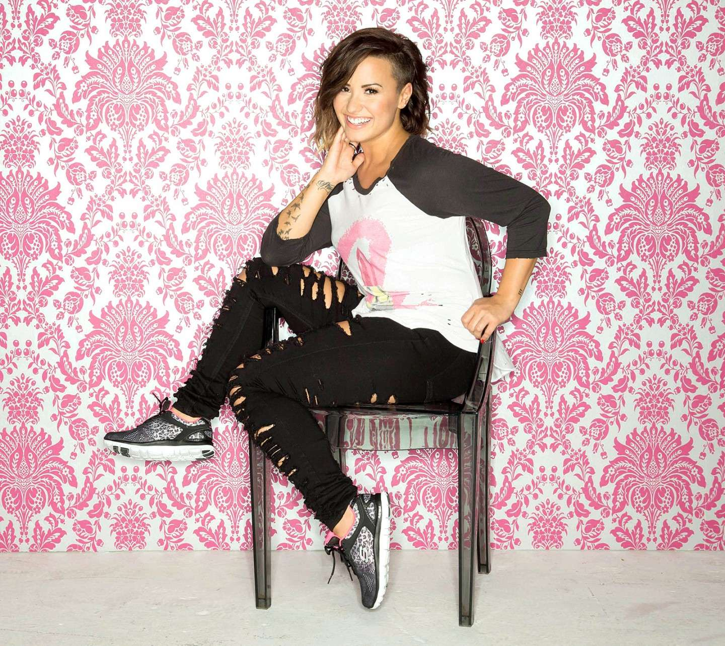 Look casual di Demi Lovato
