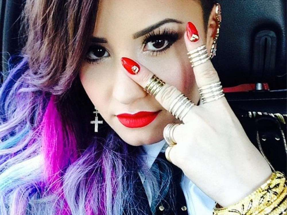 Demi Lovato ed il make up