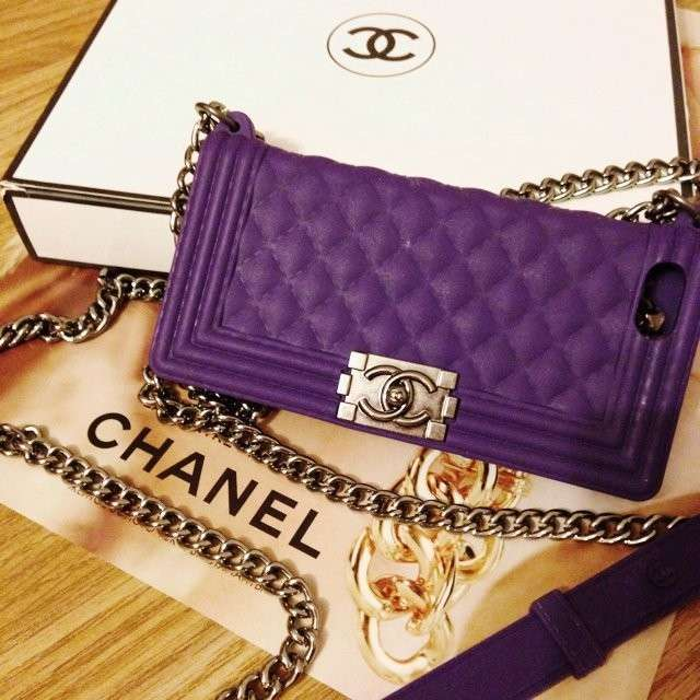 Cover con catenella Chanel