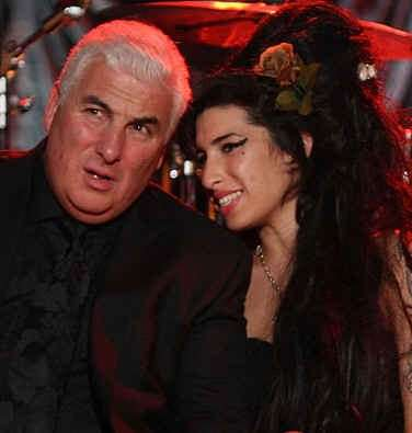 Amy Winehouse con il padre