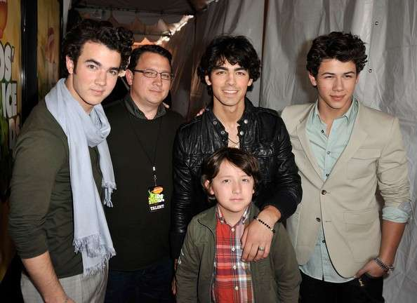 Jonas Brother con il padre