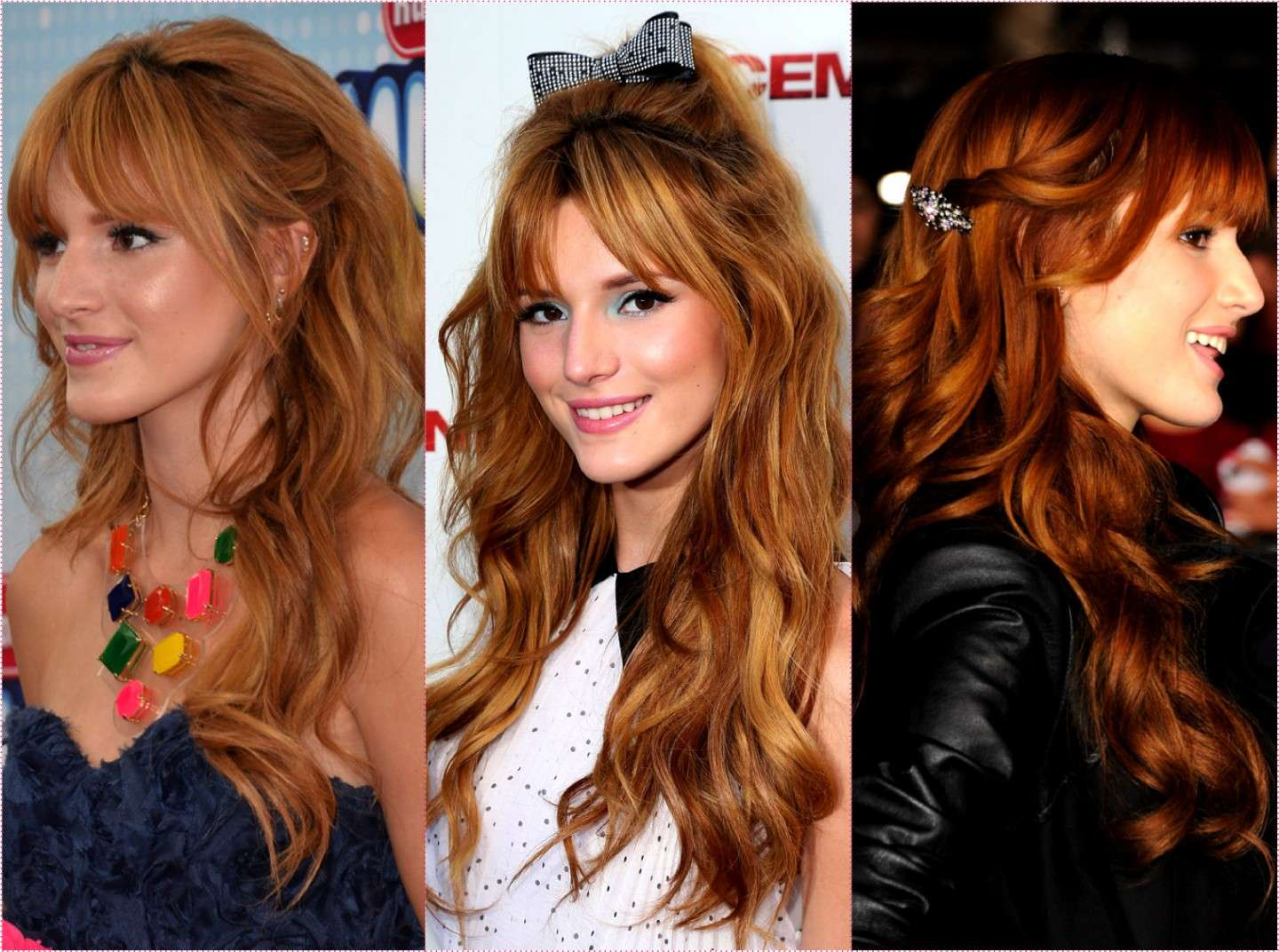 Acconciature di Bella Thorne