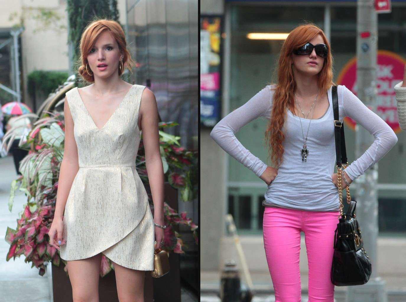 Bella Thorne a New York