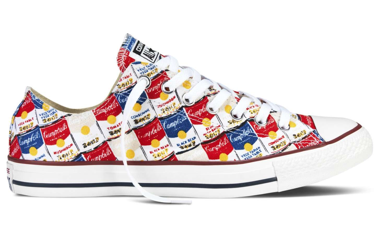 Converse ispirate ad Andy Warhol
