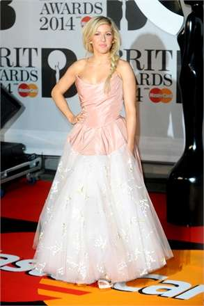 BRIT AWARDS 2014 - Ellie Goulding
