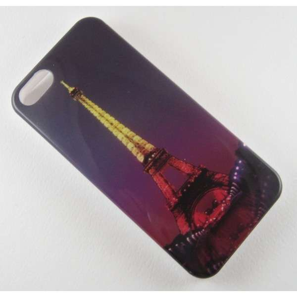 Cover con Torre Eiffel notturna