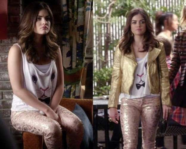 Aria Montgomery ed un orribile outfit