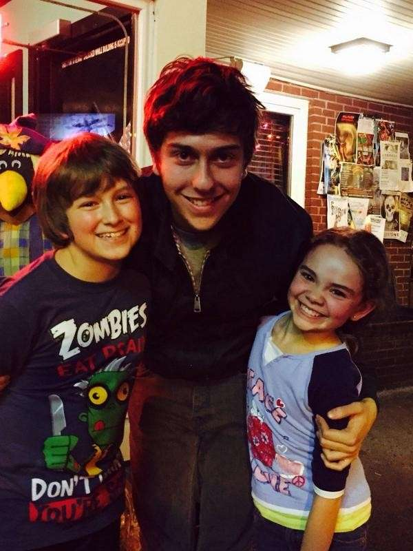 Nat Wolff e i mini-me