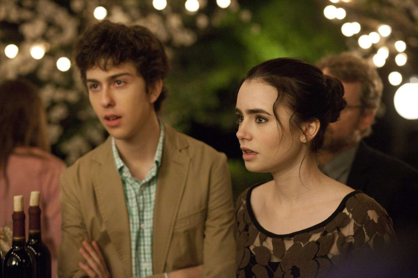 Nat Wolff e Lily Collins insieme