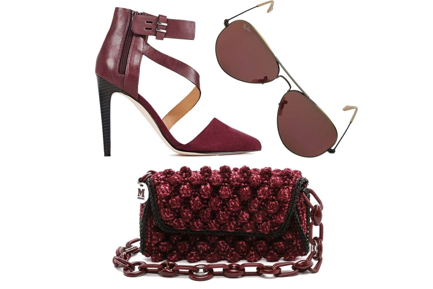 Tre idee di accessori color Marsala