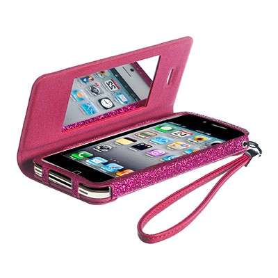 Cover con specchio rosa all