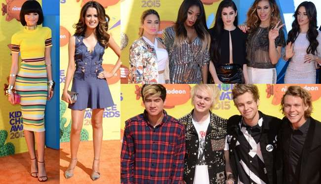 Kids' Choice Awards 2015: i look dal tappeto rosso