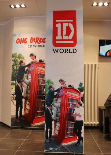 One Direction: Temporary store a Milano! Foto!