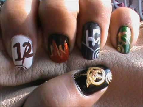 Nail art di Hunger Games
