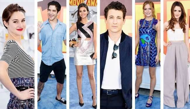 MTV Movie Awards 2015: da Shailene Woodley a Victoria Justice, tutti i look dal red carpet