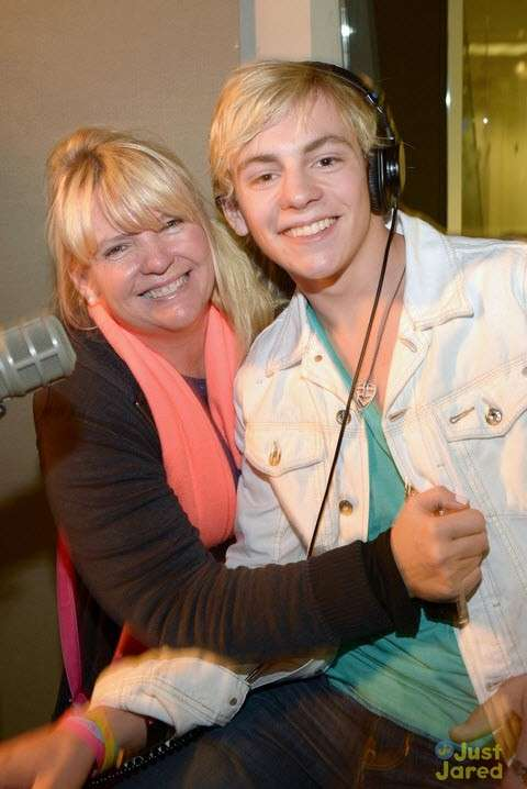 Ross Lynch e la mamma Stormie