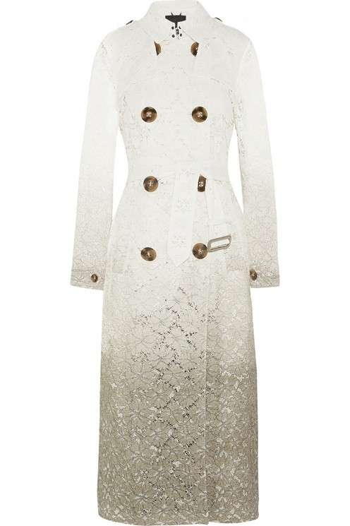 Trench di Burberry Prorsum