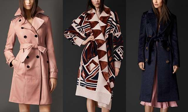 Trench eleganti di Burberry