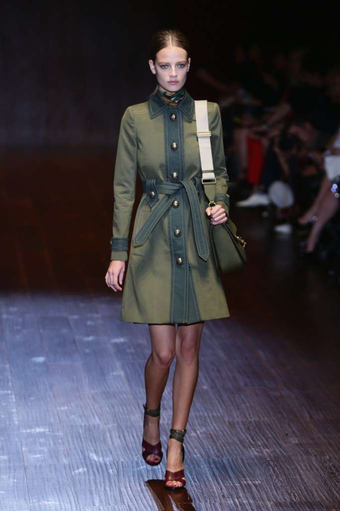 Trench di Gucci