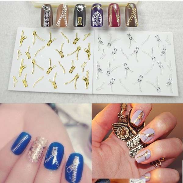 Sticker nail con zip