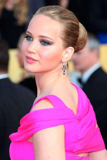 Makeup di Jennifer Lawrence