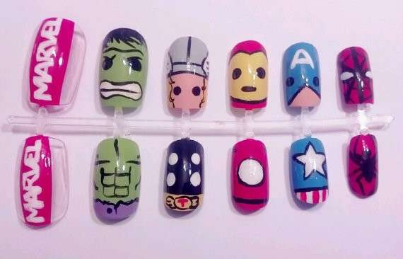 Sticker nail di The Avengers