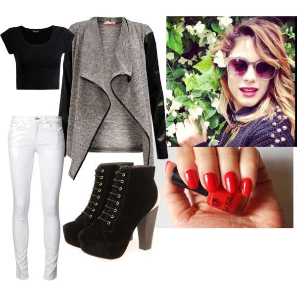 Martina Stoessel look rock