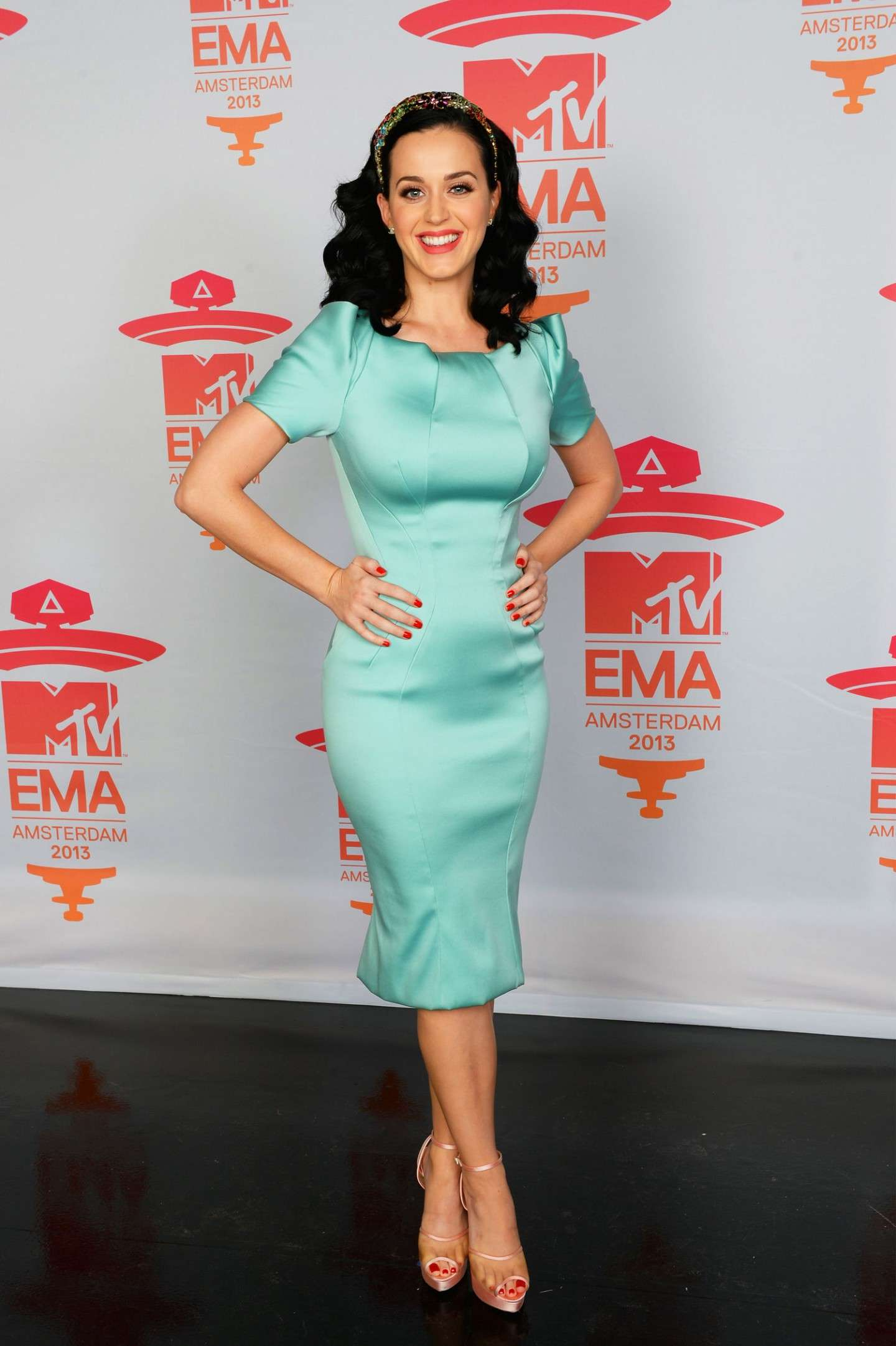 Katy Perry agli EMA 2013