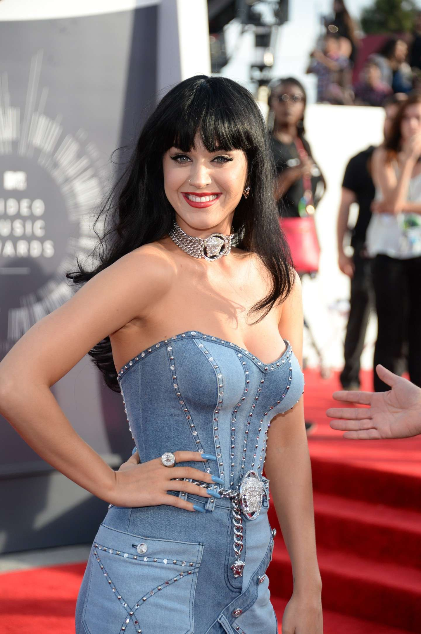 Katy Perry ed il look total denim