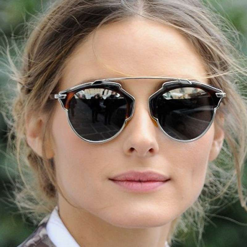 Olivia Palermo e il double bridge